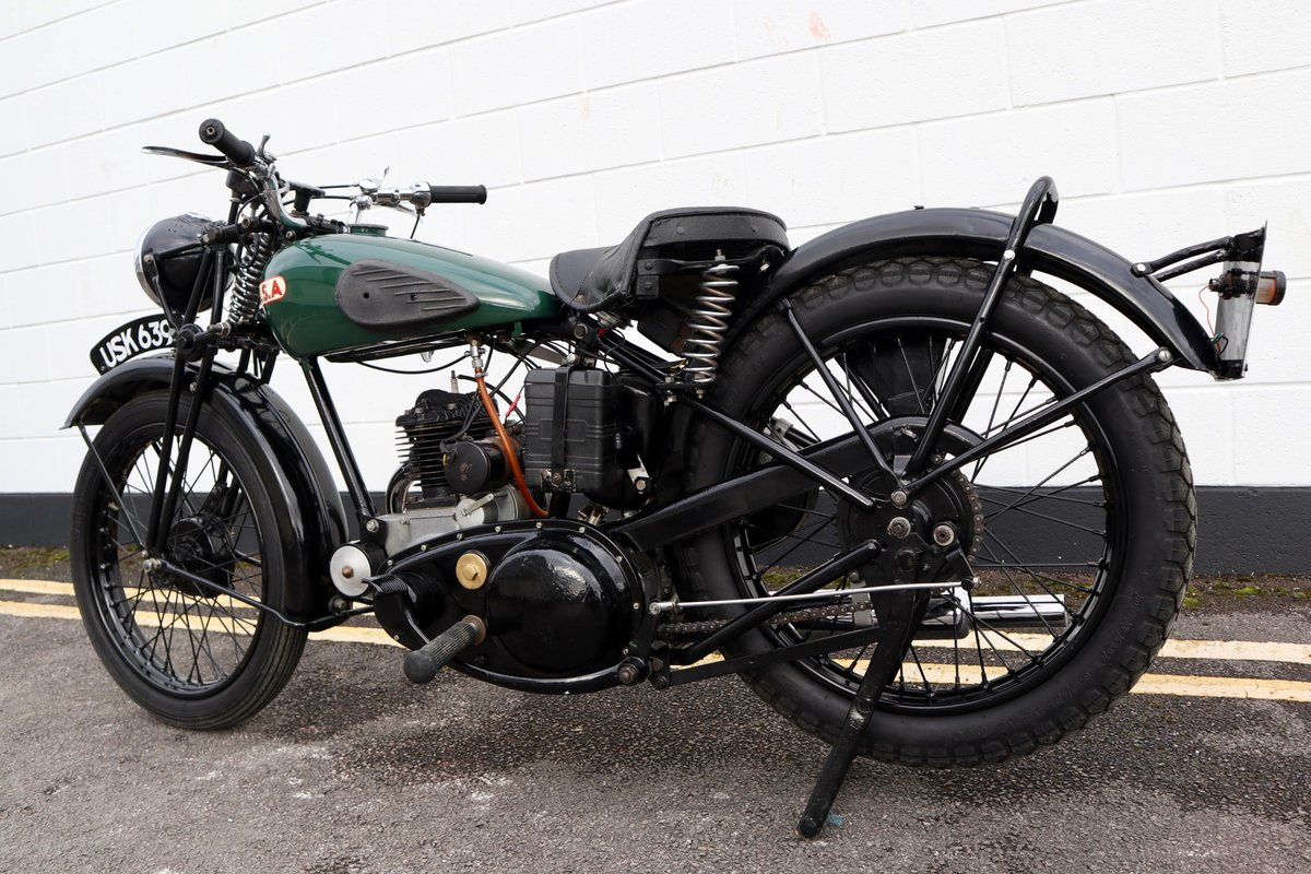 1938 BSA B20 250cc - A Very Rare Pre-War Vintage Model For Sale (picture 6 of 22)