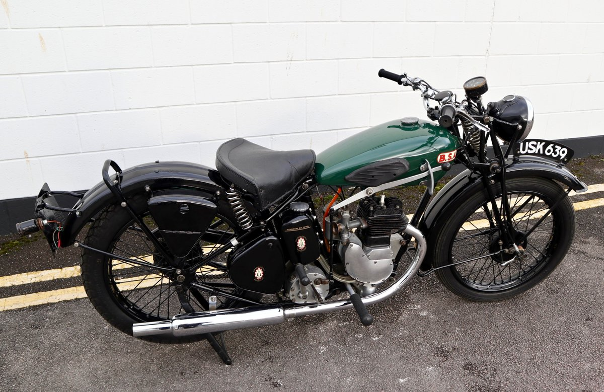 1938 BSA B20 250cc - A Very Rare Pre-War Vintage Model For Sale (picture 7 of 22)