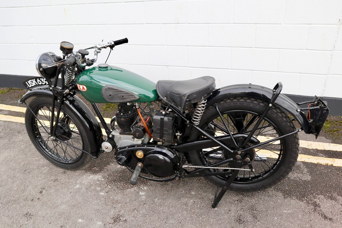 1938 BSA B20 250cc - A Very Rare Pre-War Vintage Model For Sale (picture 8 of 22)