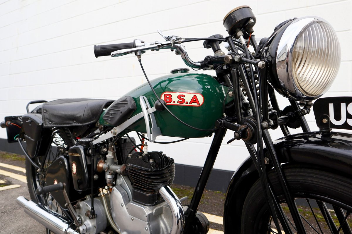 1938 BSA B20 250cc - A Very Rare Pre-War Vintage Model For Sale (picture 9 of 22)