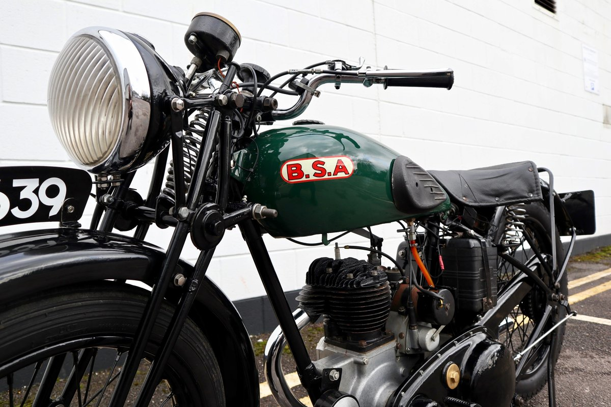 1938 BSA B20 250cc - A Very Rare Pre-War Vintage Model For Sale (picture 10 of 22)