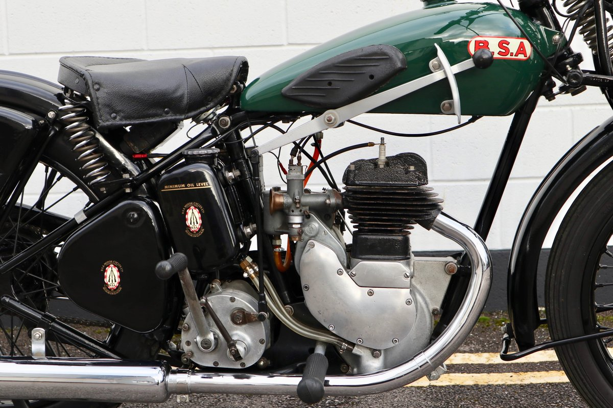 1938 BSA B20 250cc - A Very Rare Pre-War Vintage Model For Sale (picture 11 of 22)