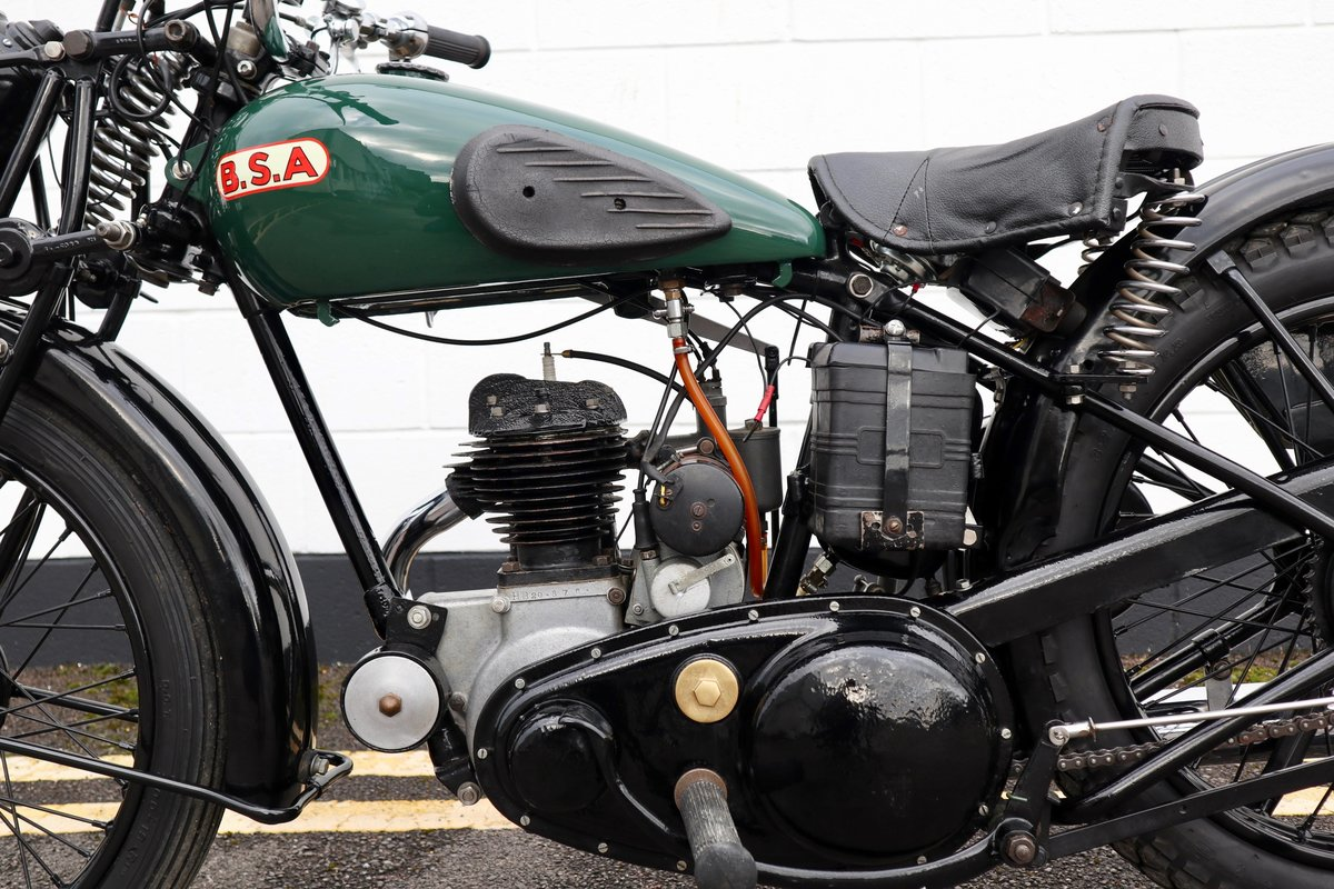 1938 BSA B20 250cc - A Very Rare Pre-War Vintage Model For Sale (picture 12 of 22)