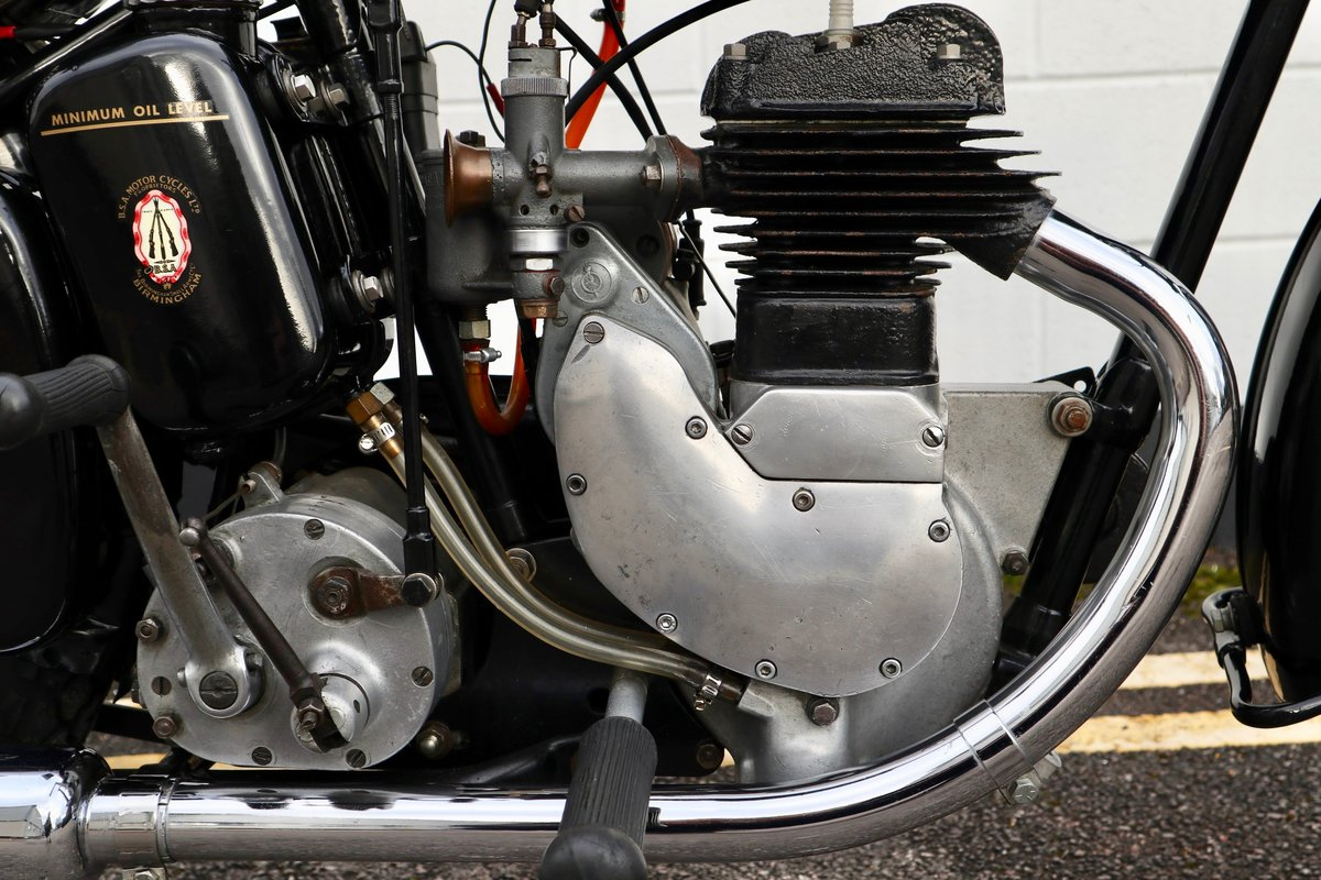 1938 BSA B20 250cc - A Very Rare Pre-War Vintage Model For Sale (picture 13 of 22)