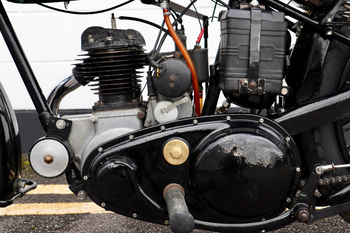 1938 BSA B20 250cc - A Very Rare Pre-War Vintage Model For Sale (picture 14 of 22)