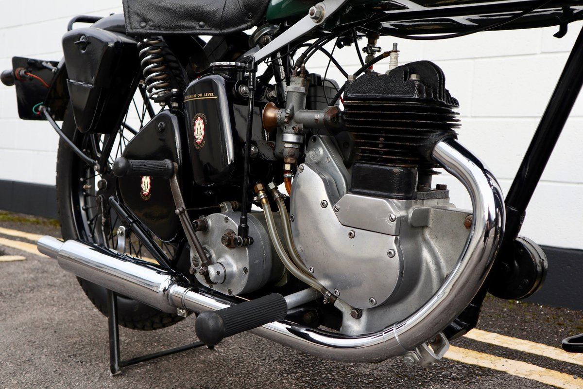 1938 BSA B20 250cc - A Very Rare Pre-War Vintage Model For Sale (picture 15 of 22)