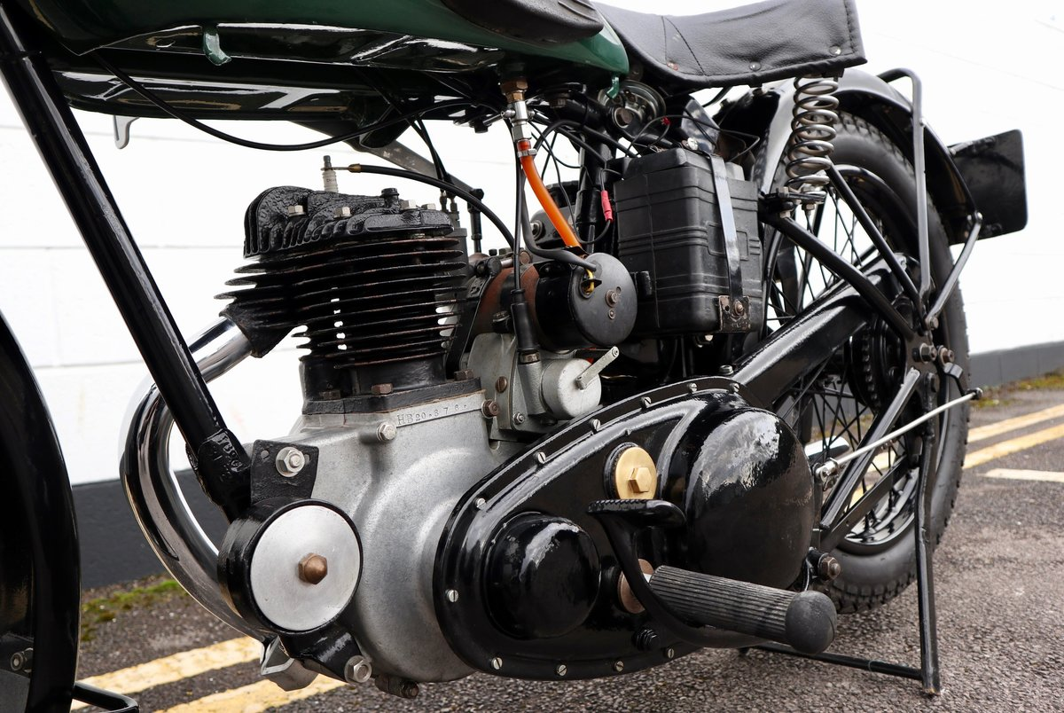 1938 BSA B20 250cc - A Very Rare Pre-War Vintage Model For Sale (picture 16 of 22)
