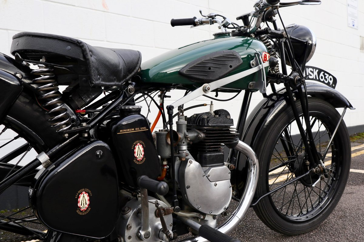 1938 BSA B20 250cc - A Very Rare Pre-War Vintage Model For Sale (picture 17 of 22)