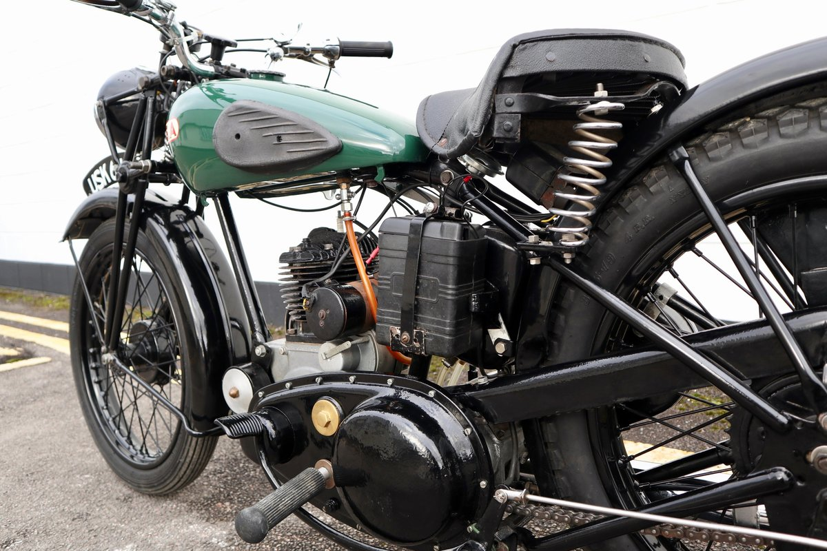 1938 BSA B20 250cc - A Very Rare Pre-War Vintage Model For Sale (picture 18 of 22)