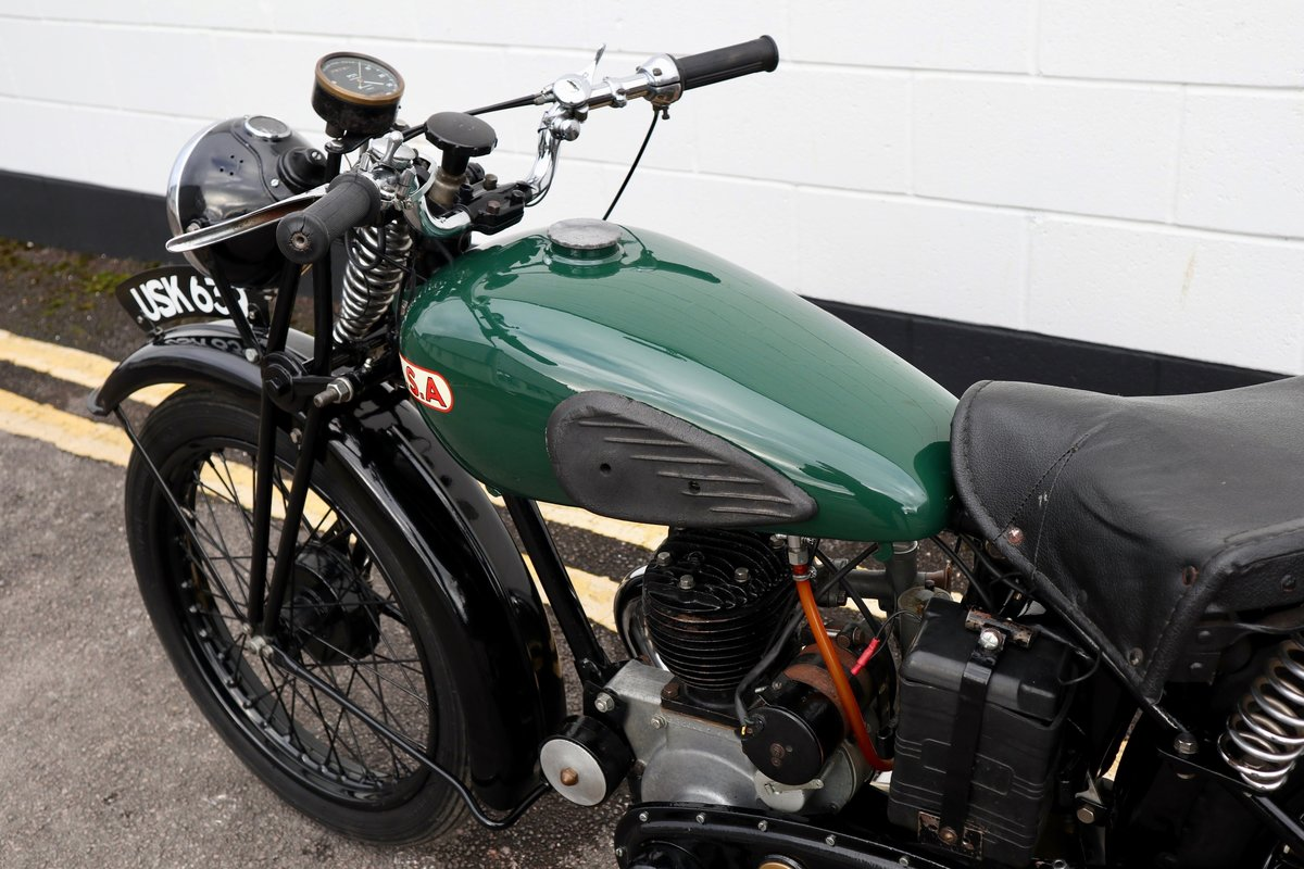 1938 BSA B20 250cc - A Very Rare Pre-War Vintage Model For Sale (picture 20 of 22)