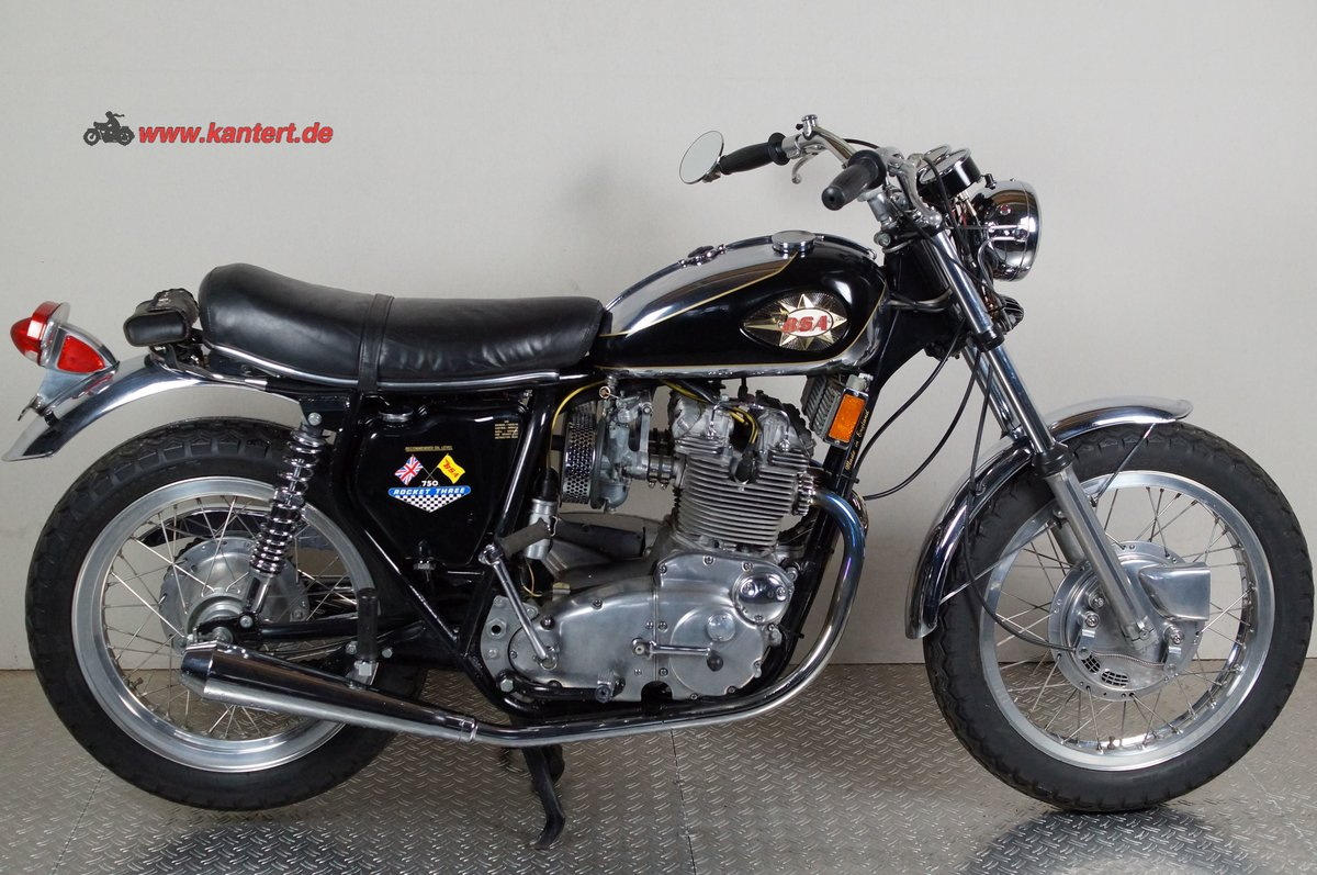 1971 BSA Rocket III A 75, 740 cc, 60 hp For Sale (picture 1 of 12)