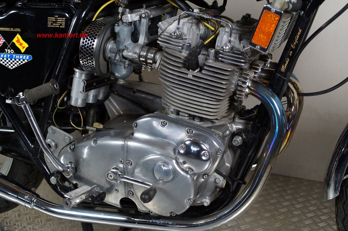 1971 BSA Rocket III A 75, 740 cc, 60 hp For Sale (picture 4 of 12)