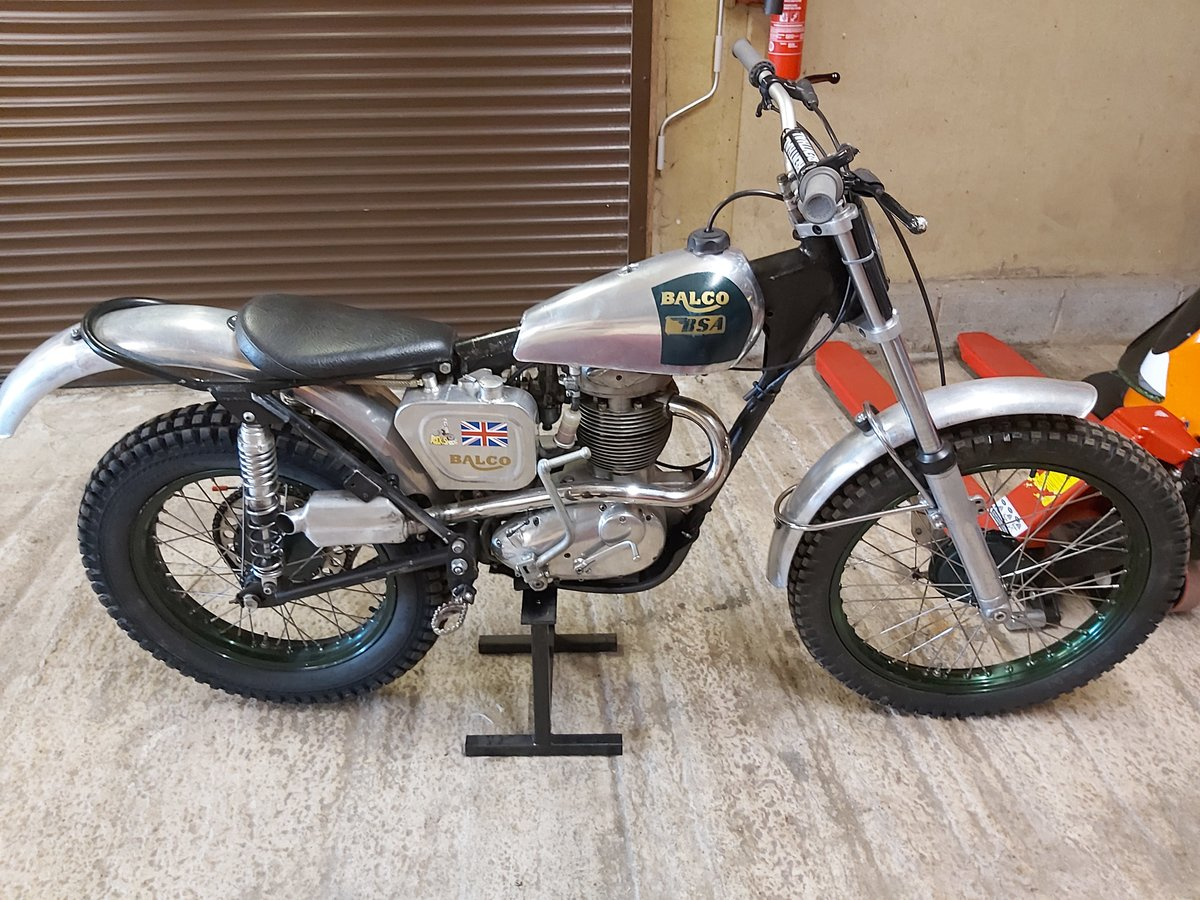1960 BSA B40 Pre 65 Trials For Sale (picture 1 of 4)
