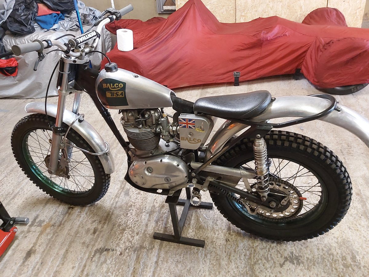 1960 BSA B40 Pre 65 Trials For Sale (picture 2 of 4)
