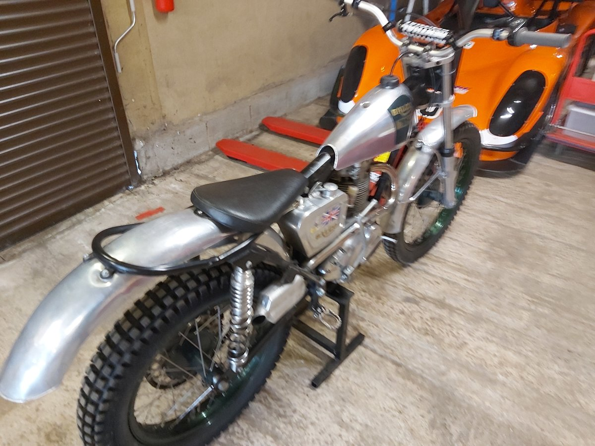 1960 BSA B40 Pre 65 Trials For Sale (picture 4 of 4)