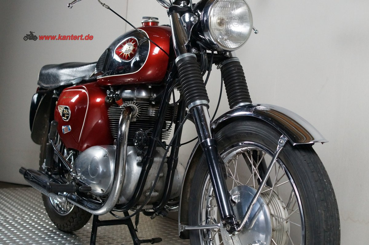 1964 BSA A 65 Rocket, 654 cc, 38 hp For Sale (picture 9 of 12)
