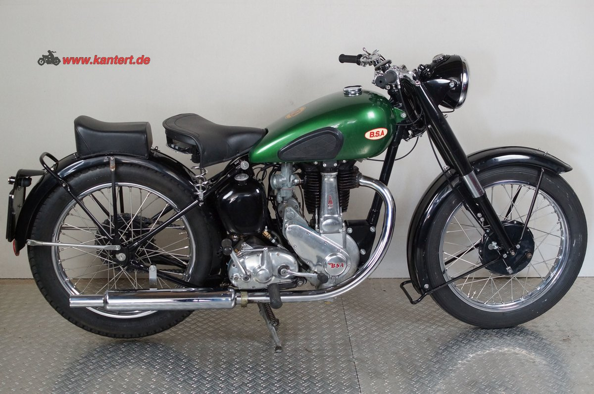 1950 BSA 500 B 33, 499 cc, 23 hp For Sale (picture 1 of 12)