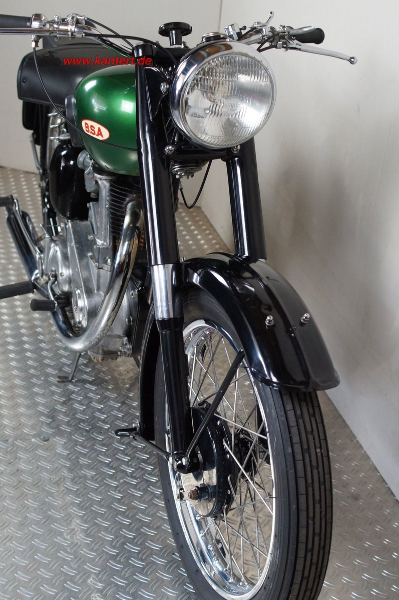 1950 BSA 500 B 33, 499 cc, 23 hp For Sale (picture 3 of 12)