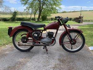 Picture of 1956 BSA 150cc D3 Bantam Major Project Lot 108 For Sale by Auction