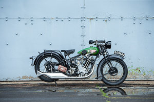 Picture of 1928 BSA 493cc Overhead-valve Twin-port Sloper Lot 782 For Sale by Auction