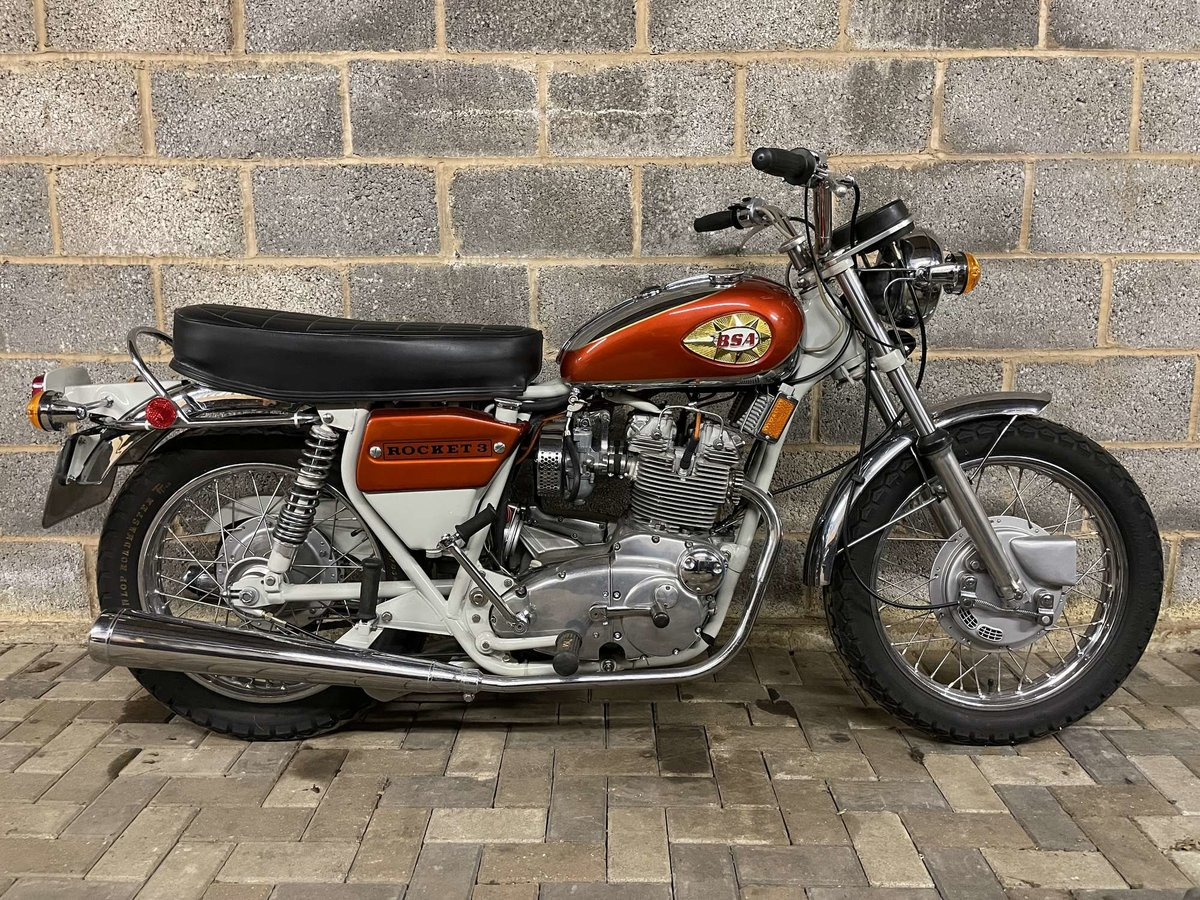 1971 BSA A75R Rocket 3 Mk 2 For Sale by Auction (picture 1 of 25)