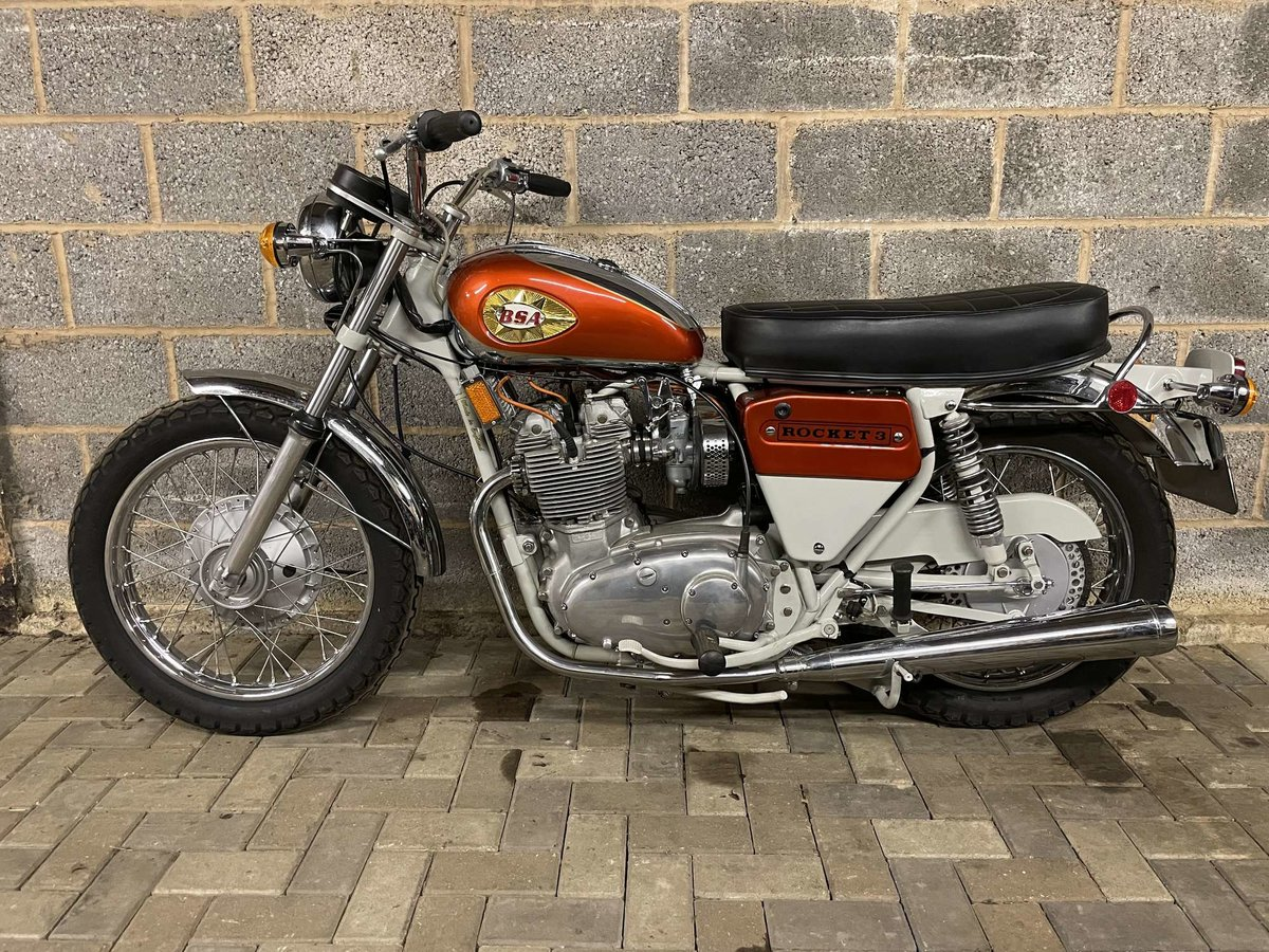 1971 BSA A75R Rocket 3 Mk 2 For Sale by Auction (picture 2 of 25)