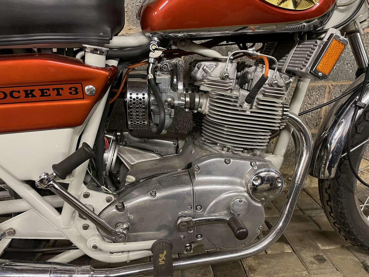 1971 BSA A75R Rocket 3 Mk 2 For Sale by Auction (picture 3 of 25)