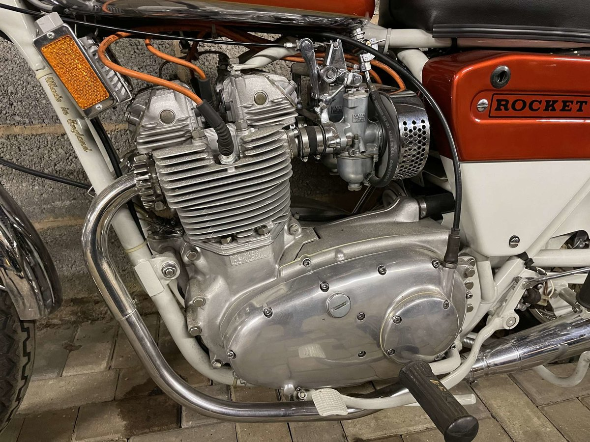 1971 BSA A75R Rocket 3 Mk 2 For Sale by Auction (picture 4 of 25)