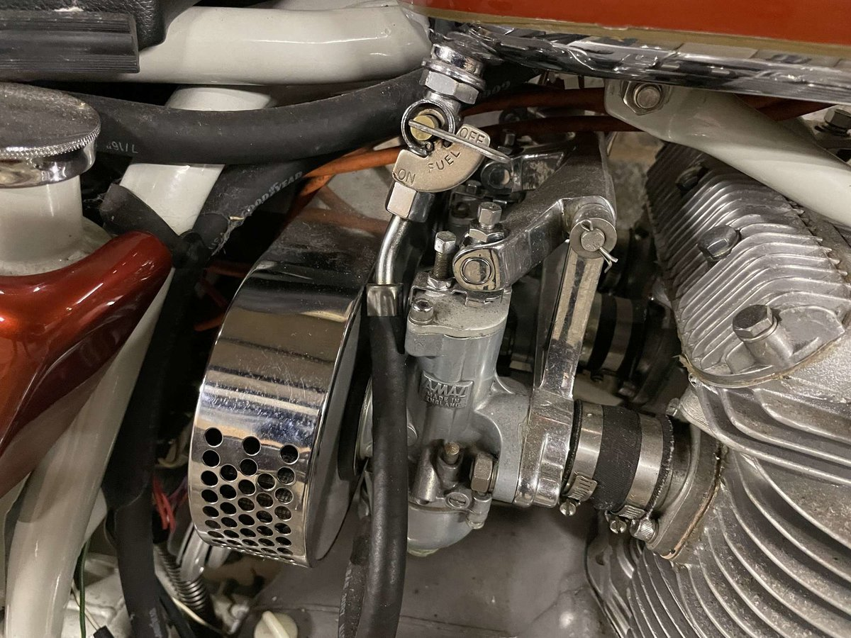 1971 BSA A75R Rocket 3 Mk 2 For Sale by Auction (picture 9 of 25)