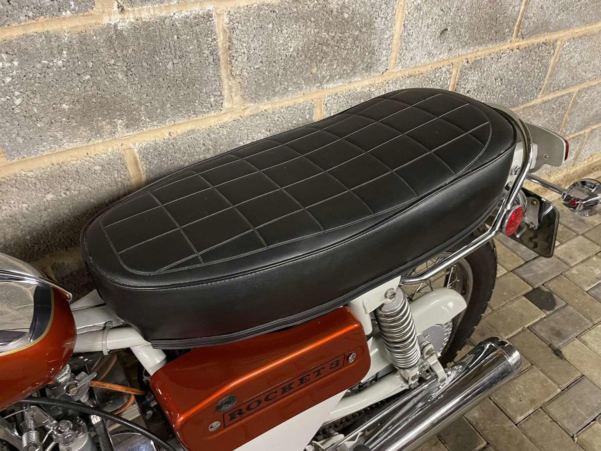 1971 BSA A75R Rocket 3 Mk 2 For Sale by Auction (picture 16 of 25)
