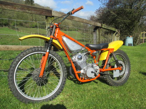 BSA Bantam Grasstrack Bike, 220cc For Sale (picture 2 of 4)