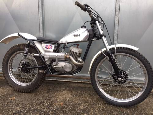 1962 BSA BANTAM VINTAGE PRE 65 TRIALS ALLOY BARREL DRAYTON TANK  For Sale (picture 1 of 2)