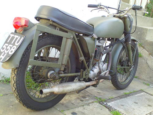 1970 BSA B40 MILITARY SOLD (picture 2 of 6)