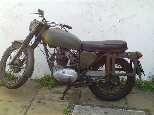 1970 BSA B40 MILITARY SOLD (picture 3 of 6)