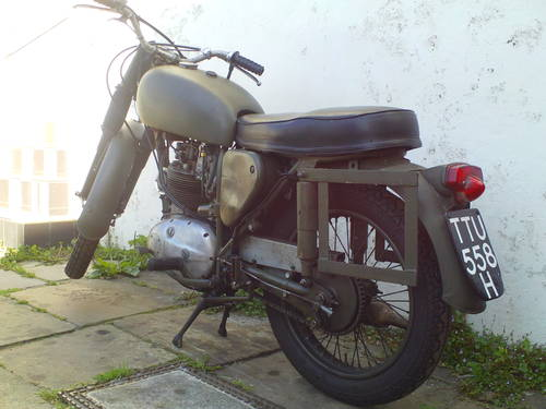 1970 BSA B40 MILITARY SOLD (picture 4 of 6)