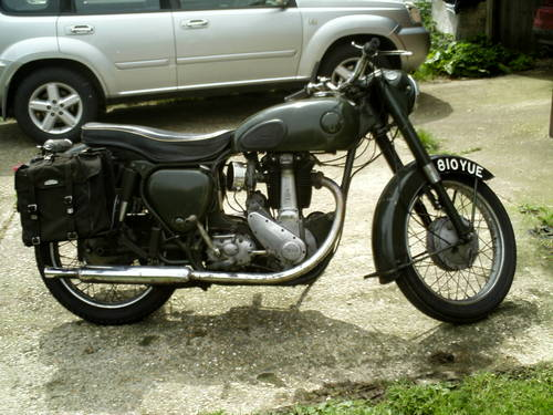 1956 BSA B31 EX FIRE SERVICE SOLD (picture 1 of 6)