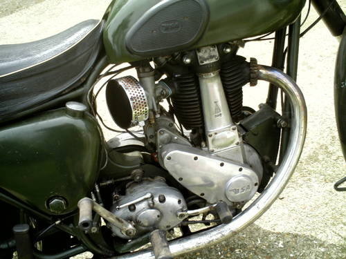 1956 BSA B31 EX FIRE SERVICE SOLD (picture 2 of 6)
