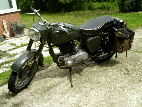 1956 BSA B31 EX FIRE SERVICE SOLD (picture 5 of 6)