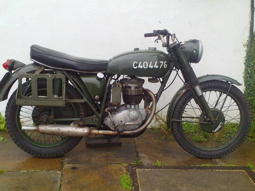 1967 BSA B40 WD MK1 SOLD (picture 1 of 5)