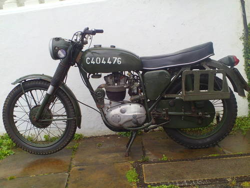 1967 BSA B40 WD MK1 SOLD (picture 3 of 5)