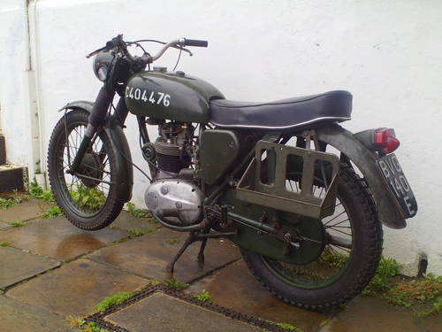 1967 BSA B40 WD MK1 SOLD (picture 4 of 5)