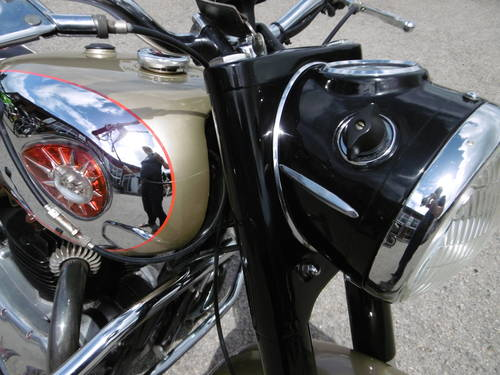 1960 BSA Gold Flash Original bike correct and restored  SOLD (picture 4 of 6)