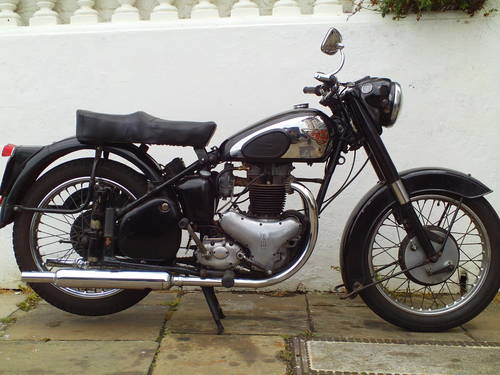 1953 BSA A10 GOLDEN FLASH  SOLD (picture 1 of 5)