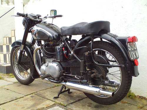1953 BSA A10 GOLDEN FLASH  SOLD (picture 4 of 5)