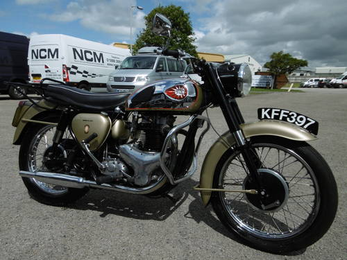 1960 BSA Gold Flash correct and now restored  SOLD (picture 1 of 6)