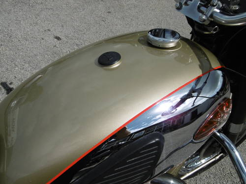 1960 BSA Gold Flash correct and now restored  SOLD (picture 3 of 6)