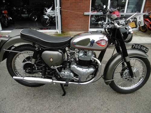 1959 BSA SUPERROCKET RESTORED !  SOLD (picture 1 of 6)