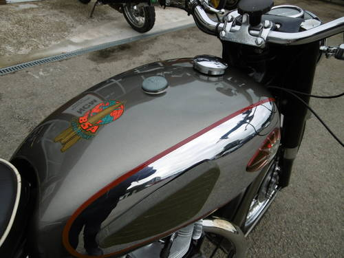 1959 BSA SUPERROCKET RESTORED !  SOLD (picture 3 of 6)
