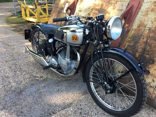 BSA Silver star 1939 Stunning Condition SOLD (picture 1 of 3)