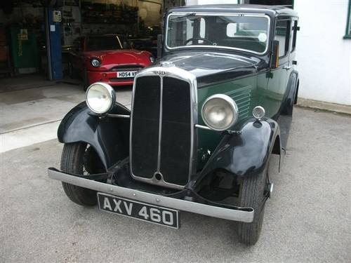 1934 BSA 10hp Saloon SOLD (picture 1 of 6)